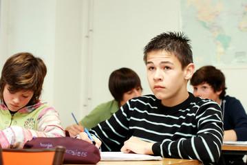 Adolescents en cours