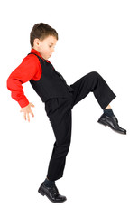 Stylish little dancer