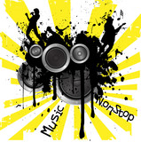 music non stop poster