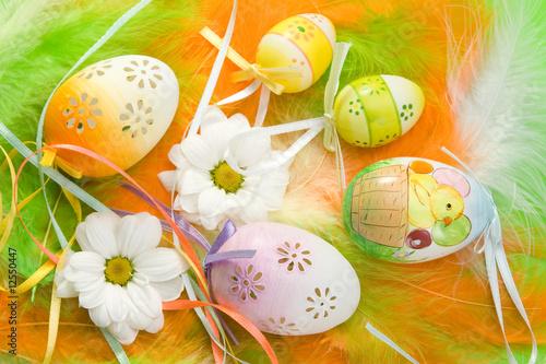 Poster Easter eggs