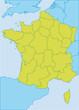CARTE FRANCE - Régions
