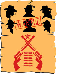 wild west poster wanted