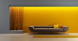 Fototapety design of the longe room