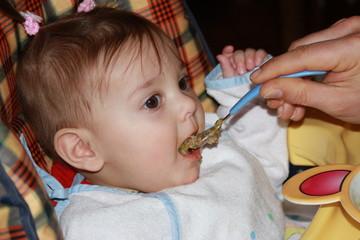 repas du bébé