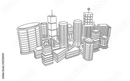 Comment dessiner des immeubles en 3d for Apprendre a dessiner une maison en 3d
