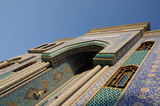 Mosque in Bur Dubai, United Arab Emirates poster