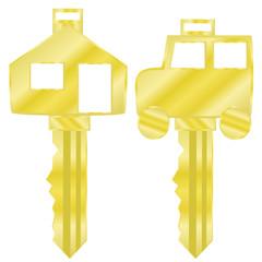 House and car keys
