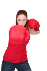 boxer girl