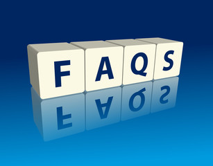 """FAQs"" (blocks with reflection)"