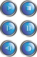 blue player buttons