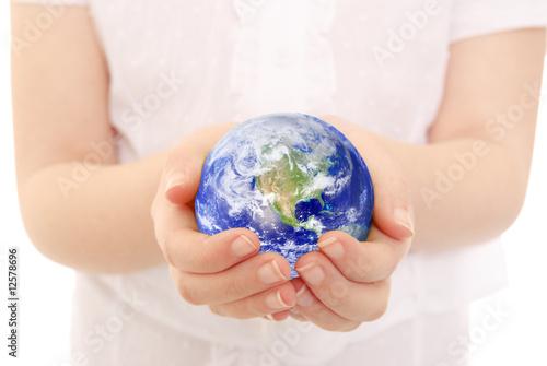Cradling the Earth