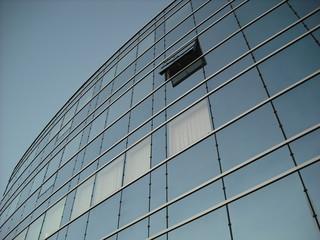 façade de verre