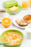classic breakfast meal poster