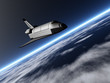 Shuttle im Orbit