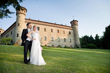 sposi in castello