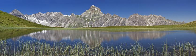 Bergsee im Montafon