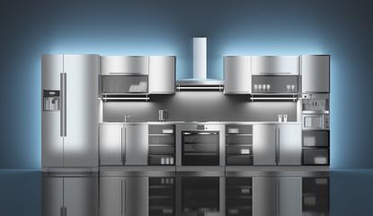 High-tech kitchen