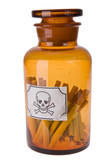 cigarettes in bottle of poison poster