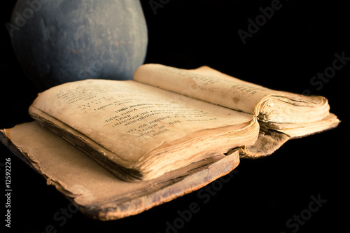 Ancient prayer book
