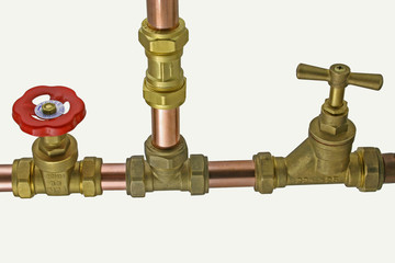compression fittings & pipework