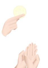 mani comunione