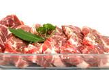 viande échine de porc poster