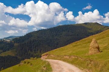 mountain road landscape