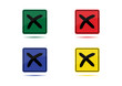 No Icon (4 Color Variations)