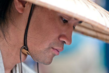 Pensive Oriental