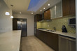 Contemporary Kitchen with Tiled Backsplash