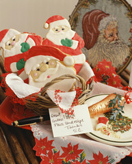 Note from Santa Claus by Cookies