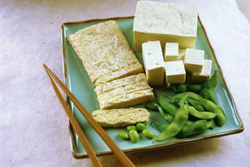 Soy Products; Tempeh, Tofu, and Edamame