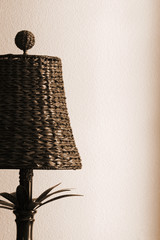 Detail of Woven Lamp
