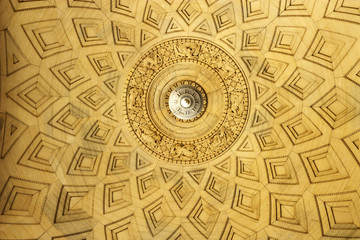 Wooden Ceiling Roundel