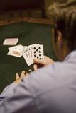Winning Hand at gambling poster