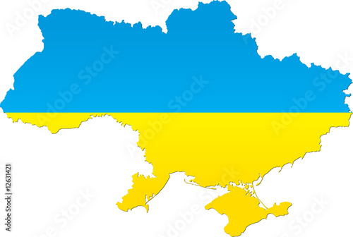 Detailed map of Ukraine