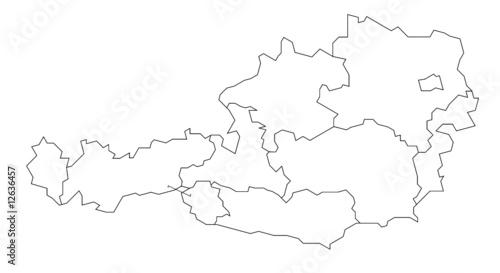 fototapete karte karte landkarte globus zentral europa pixteria. Black Bedroom Furniture Sets. Home Design Ideas