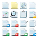 Fototapety document icons