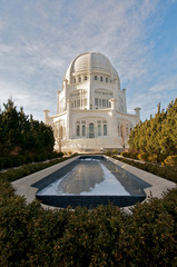 The Baha'i House of Worship in Chicago