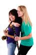 Mädels in der Musikschule