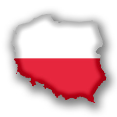 Polen Karte
