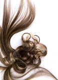 long hair poster