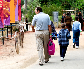 Visual moments from a great international zoo park - People