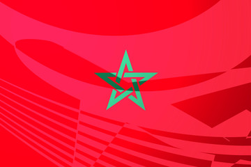 Flag of Morrocco