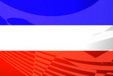 Flag of Serbia and Montenegro poster