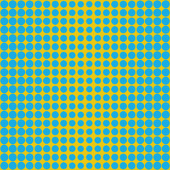blue dots pattern