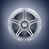 Car alloy rim poster