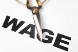 Wage Cut poster