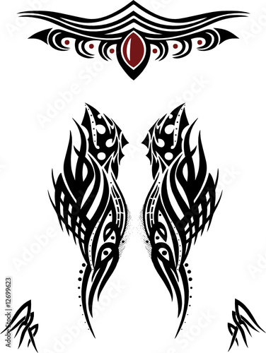 Tattoos, Tattoovorlagen, Tribal Flash