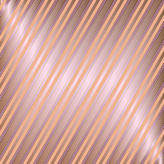 Diagonal coffee and pink striped background (vector)